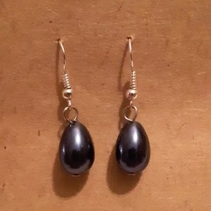 Tahitian Tear Drop Earrings